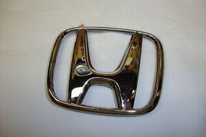 2008 2012 Honda Accord Chrome Trunk Emblem New Oem