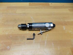 Bemato Air Tools Pneumatic Drill 3 8 Keyed Chuck 2600 Rpm Model 00392183