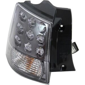 Tail Light For 07 13 Mitsubishi Outlander Driver Side Outer Body Mounted