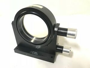 Oriel Optical Filter Mirror Mount Axis Laser Optics Lens Positioner