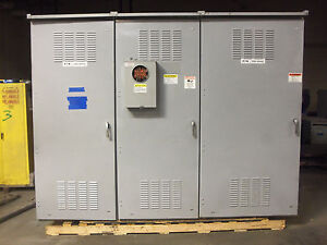 Cutler 2000 Amp 480v 277v Panel Panelboard 3r 208v Ground Fault Gfi 240v 120v