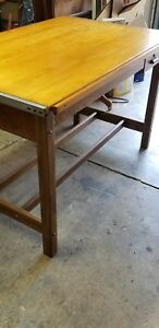 Hamilton 1958 Drafting Table