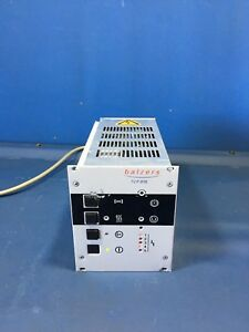 Balzers pfeiffer Tcp015 Vacuum Turbo Pump Controller