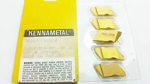 Kennametal 96267 Kc810 Top Notch Grooving Carbide Inserts 5 Pc q 969
