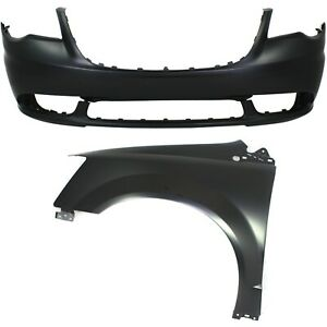 New Auto Body Repair Kit Front For Town And Country Ch1000990 Ch1240262c