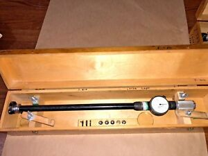 Standard Dial Bore Gage No 4 54mm 79mm 2 12 3 12 0001 16 Length To Dial