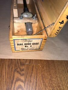 Standard Dial Bore Gage No 4 2 1 8 3 1 8 0001 Long Extension