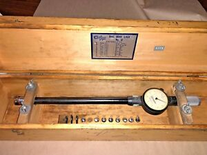 Standard Dial Bore Gage No 2 1 1 17 32 0001 Long Extension