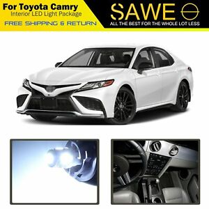14 X White Led Interior Lights Package For 2012 2018 2019 Toyota Camry Tool