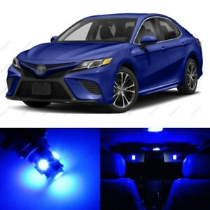 14 X Blue Led Interior Lights Package For 2012 2019 Toyota Camry Pry Tool