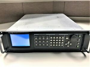 Tektronix Tg2000 Signal Generation Platform With Bg1 dvg1 avg1 agl1 cpu
