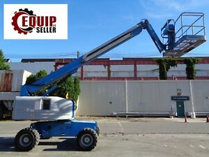 Genie S45 Boom Man Aerial Scissor Lift 4x4 45ft Height