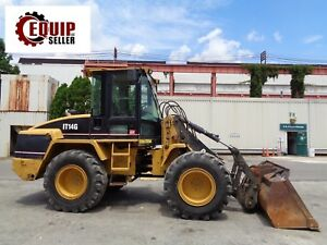 2007 Caterpillar It14g Wheel Loader Includes Bucket Forks Low Hours