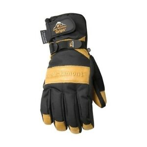Wells Lamont Black tan Universal 2x large Cowhide Leather Winter Gloves