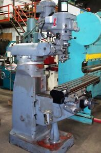 10019 Alliant Vertical Milling Machine