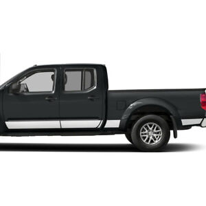 Diamond Grade 10pc 6 1 4 Rocker Panels For 2005 2018 Nissan Frontier Crew Cab