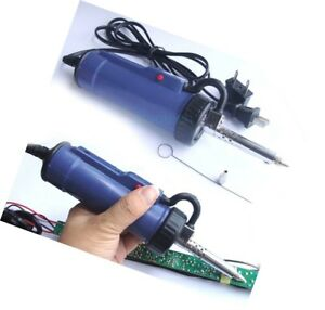 New 30w 220v 50hz Electric Vacuum Solder Sucker desoldering Pump Iron Gun