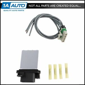 Heater Blower Motor Resistor Pigtail Connector For 05 17 Toyota Tacoma Pickup