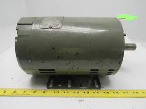 Reliance Electric B77p0971m qh 1hp 230 460v 3ph 1080rpm Electric Motor
