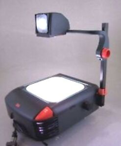 3m Overhead Projector Model 1800 With Lamp Good