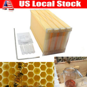 4 Pcs Auto Bee Hive Beekeeping Frames Extraction Of Honey Improve 90 Efficiency