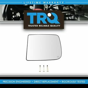 Towing Mirror Glass Heated Upper Driver Side Left Lh For Dodge Ram Pickup