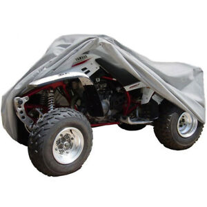 Full Atv Cover Dust Dirt Scratch Water Resistant Fits Yamaha Breeze Outdoor Sm