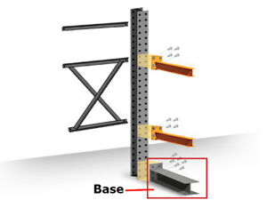 Structural Cantilever Racking Base 48 Heavy Duty Cantilever Base