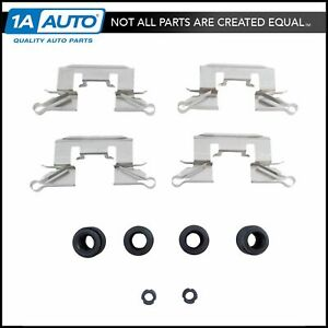 Front Disc Brake Caliper Hardware Kit Set For Honda Accord Civic New