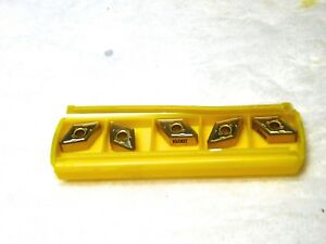 Kennametal Carbide Turning Inserts Dnmg333rp Grade ku30t 2461090 Box Of 5 Usa