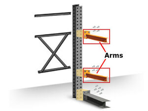 Structural Cantilever Racking Straight Arm 48 X 4 Heavy Duty Arm
