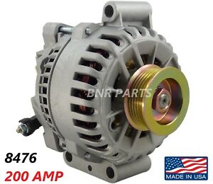 200 Amp 8476 Alternator Ford F Super Duty 6 0l High Output Performance Hd New