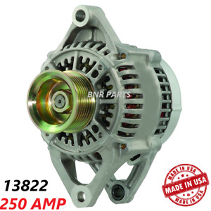 250 Amp 13822 Alternator Dodge Jeep High Output Hd New Performance Made In Usa