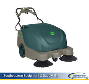 New Nobles Scout 9 35 Battery Walk behind Sweeper