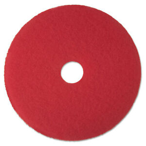 3m Red Buffer Floor Pads 5100 Low speed 17 5 carton