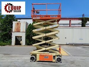 2013 Jlg 3248rs Electric Scissor Man Aerial Boom Lift 32ft Height