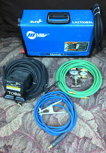 Miller 907099 Dynasty 200 Sd Tig Welder With Accessories