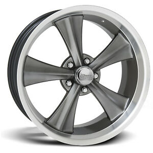 18x7 Hypershot Rocket Racing Booster Wheels 5x4 5 12 Ford Fairlane Mustang