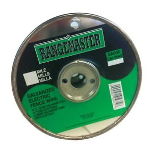 Rangemaster Galvanized Electric Fence Wire 2640 Ft L