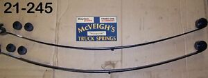 New Rear Mono Leaf Springs For 1967 1969 Chevy Camaro Part 21 245