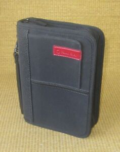 Compact 1 25 Rings Black Durable Sport Franklin Covey Zip Planner binder