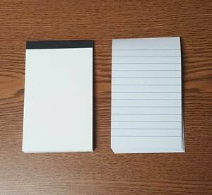 Lot Of 100 Pieces Mini Padded Pocket Notebooks With 50 Lined Pages