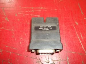 Tech1 Tech1a Mastertech Vetronix Gm Scan Tool 12 To 14 Pin Adapter Ta01140