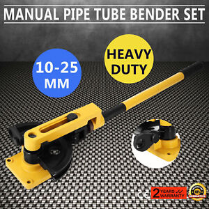 Manual Steel Pipe Tube Bender Set 3 8 1 2 9 16 5 8 3 4 7 8 1 W 25s