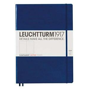 Leuchtturm1917 342929 Notebook Master Slim a4 121 Numbered Pages Dotted Na