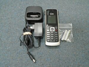 Yealink W52p Ip Dect Wireless Phone Complete W Base Charger Handset