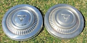 10 Dog Dish Hub Cap 1971 1979 Dodge Truck Van 3 4 1 Ton Original Caps