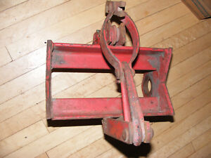 Ih Farmall Rear Wheel Clamp Hub Puller Axle Antique Tractor