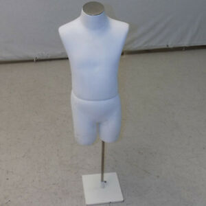 Dress Form Mannequin Child Form 26 Tall 6 8 Years Kids Retail Display W Stand