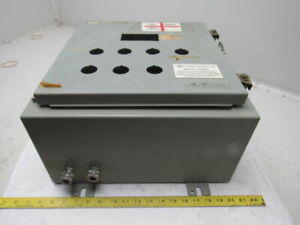 Hoffman A161608lp 16x16x8 Type 12 Wall Mount Electrical Enclosure